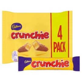 Cadbury Crunchie 4 Pack 128G