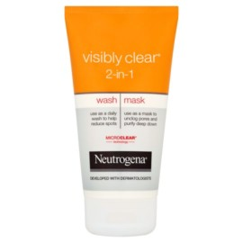 Neutrogena 2 In 1 Visibly Clear Wash Mask 150Ml