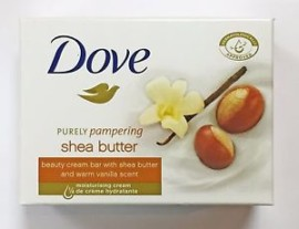 Dove Purely Shea Butter with Vanilla 2x100g