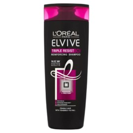 L'Oreal Paris Elvive Triple Resist Shampoo 400ml