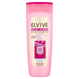 Loreal Elvive  Nutri-Gloss Shine Shampoo 400Ml