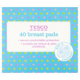 Tesco Breast Pads X 40