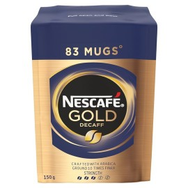 Nescafe Gold Blend Decaffeinated Instant Coffee 150G