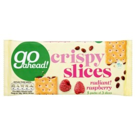 Go Ahead Crispy Fruit Slices Raspberry 5 Pack 218G