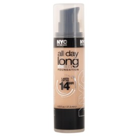 NYC 14HR ALL DAY LONG SMOOTH SKIN FOUNDATION – 745 SOFT HONEY
