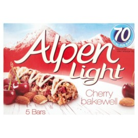 Alpen Light Bar Cherry Bakewell 5X19g