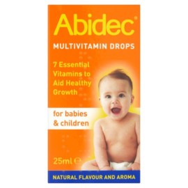 Abidec Multivitamins Drops 25Ml
