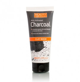 Beauty Formulas Activated Charcoal Clay Mask 100ml