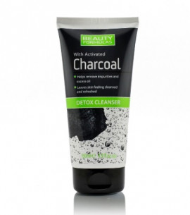 Beauty Formulas Activated Charcoal Detox Cleanser 150ml