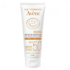 AVENE – HIGH PROTECTION MINERAL LOTION SPF 50+, 100ML, VERY HIGH PROTECTION FOR INTOLERANT OR DAMAGED SKIN