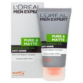 L'Oreal Paris Men Expert Pure & Matte Anti-Shine Moisturising Gel 50ml