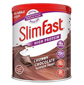 SlimFast High Protein Chunky Chocolate Flavour Powder 450g