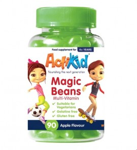 ActiKid® Magic Beans Multi-Vitamin Apple Flavour 90