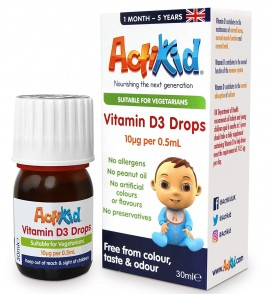 ActiKid® Vitamin D3 Drops 30ml