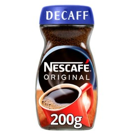 Nescafe Original Decaffeinated Instant Coffee 200G