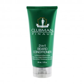 Clubman Pinaud 2-in-1 Beard Conditioner and Face Moisturizer 89ml