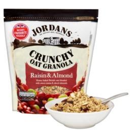 Jordans Crunchy Raisins And Almond 850G