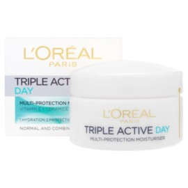 L'oreal Triple Active Day Cream Normal Combination 50Ml
