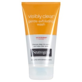 Neutrogena Visibly Clear Exfoliating Wash 150Ml