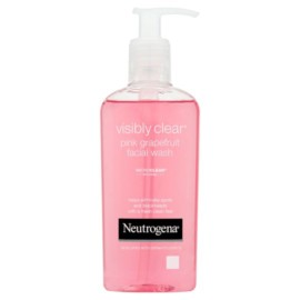 Neutrogena Visibly Clear Pink Grapefruit Facial Wash 200Ml