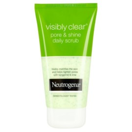 Neutrogena Visibly Clear Pore Shine Scrub 150Ml