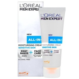 L'Oreal Men Expert Hydra All-in-One Tube-Sensitive 75ml