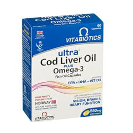 Vitabiotics AquaMarine 2 in 1 Capsules