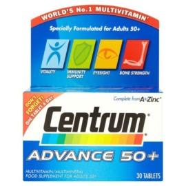 Centrum Advance 50+ x 30 Tablets
