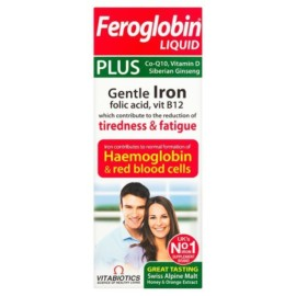 Vitabiotics Feroglobin Plus Liquid 200ml