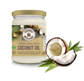 Coconut Merchant Organic Raw Extra Virgin Coconut Oil 500ml