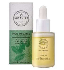 offer Botanics Organic Facial Oil 100% Organic 25ml