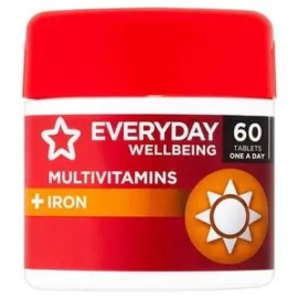 Superdrug Multivitamins & Iron Tablets x 60