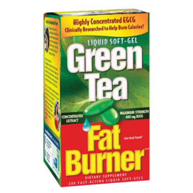 Applied Nutrition Green Tea Fat Burner with EGCG, 400mg 200 Softgels