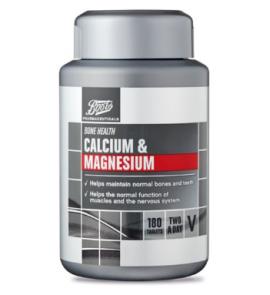 Boots Calcium & Magnesium 180 Tablets