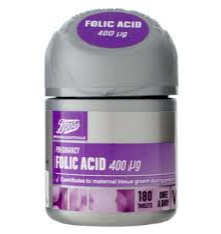 Boots Folic Acid 400 µg 180 Tablets