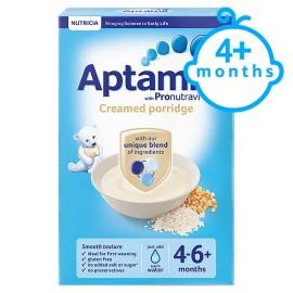 Aptamil Creamed Porridge 4-6+ Months 125g