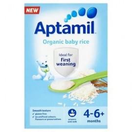 Aptamil Organic Baby Rice 4-6+ Months 100g