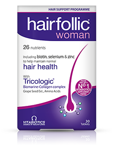 Vitabiotics Hairfollic Woman – 30 tablets