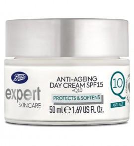 Boots Expert day moisturiser spf15 +q10 50ml