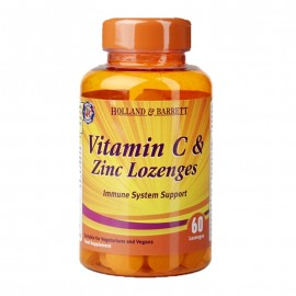 Holland & Barrett Vitamin C and Zinc 60 Lozenges