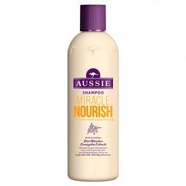 Aussie Miracle Nourish Shampoo For Long Hair 300ml
