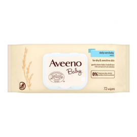 AVEENO Baby Daily Care Wipes Single pack 72 Pcs